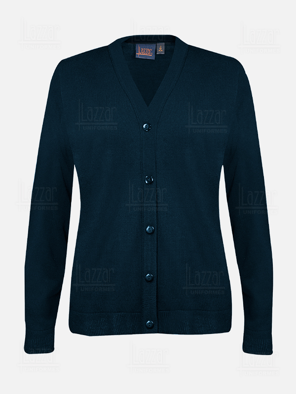 Navy blue sweater for women