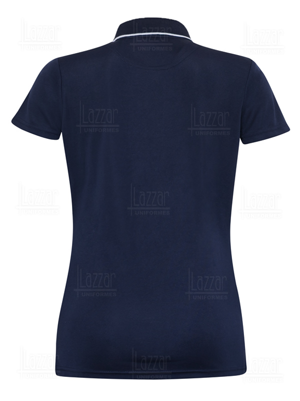 Executive Polo Shirt Dry Fit Premium navy blue color