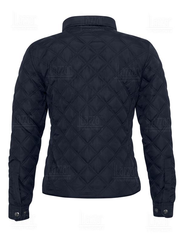 medellin navy blue jacket rear view