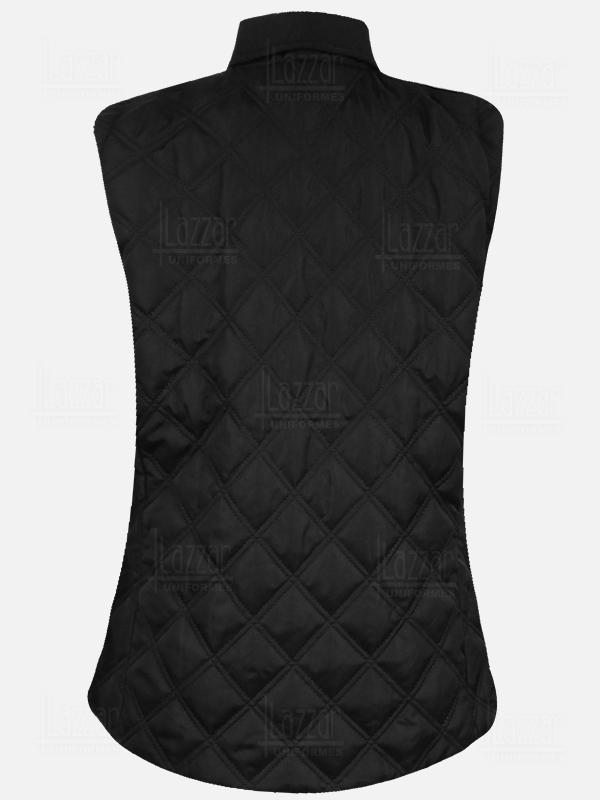 Chaleco Ejecutivo Medellin  color negro vista de la espalda
