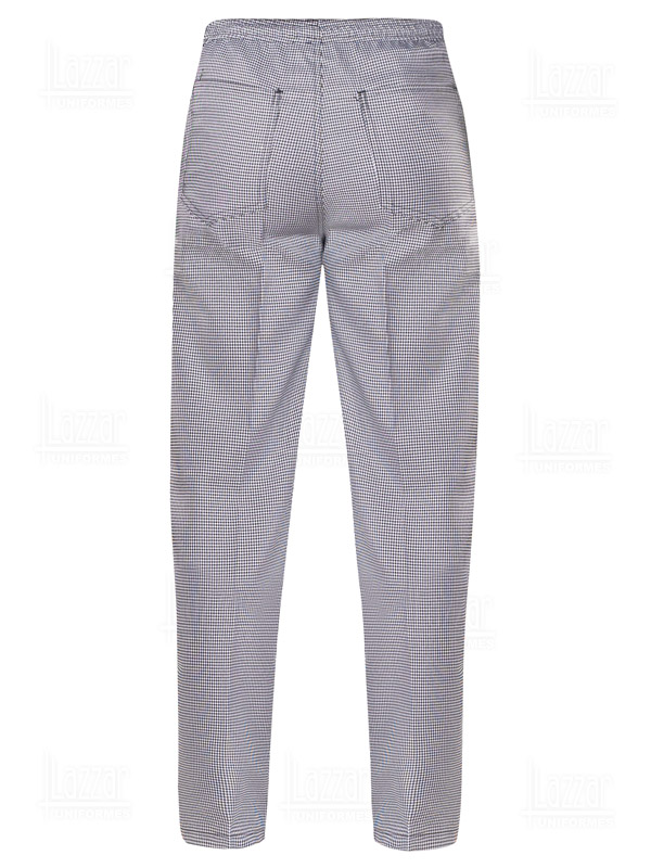 Chef's pants rear view