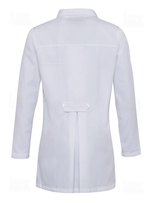 Medical gown white color