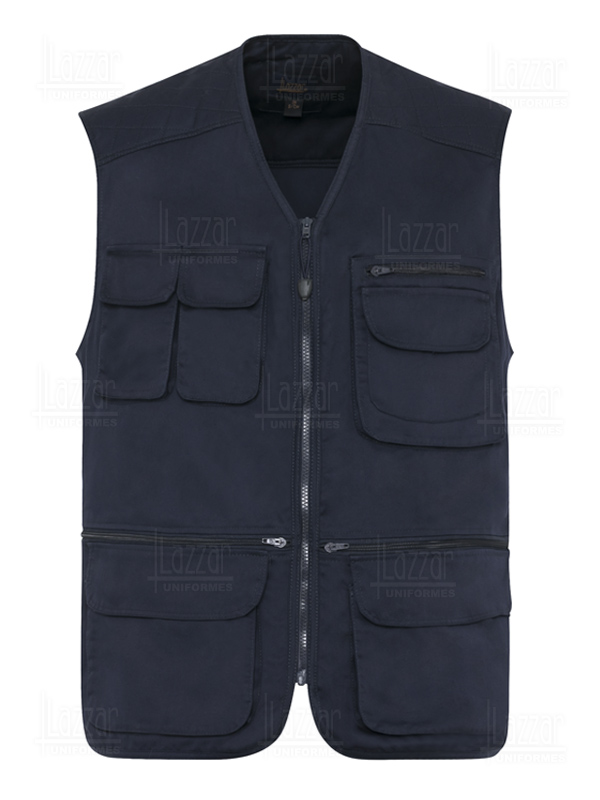 Safari Reporter Work Vest in Texas Lazzar