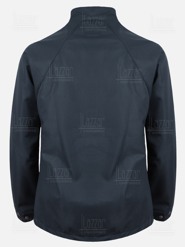 BC Waterproof Jacket rear view