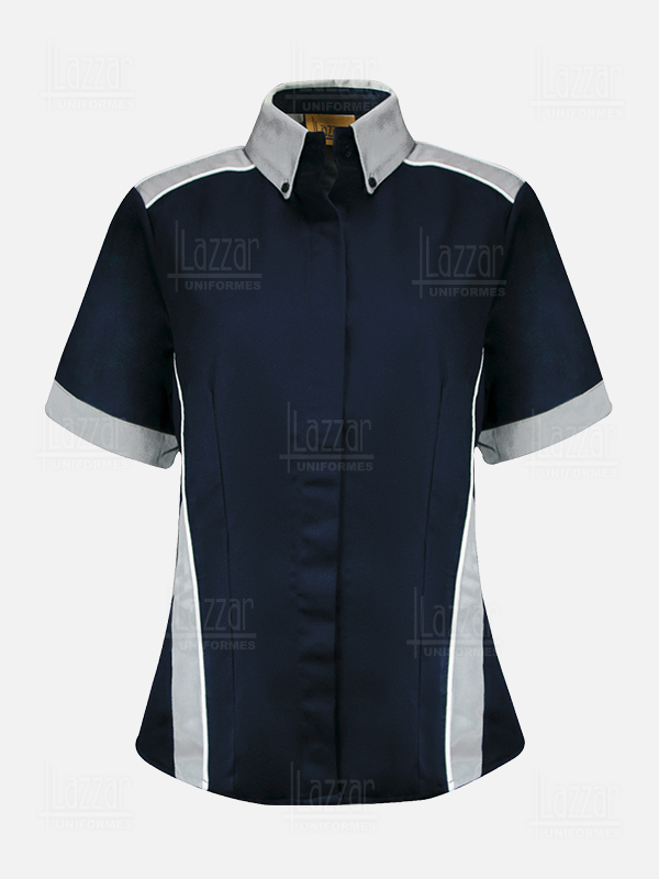 Industrial navy blue blouse