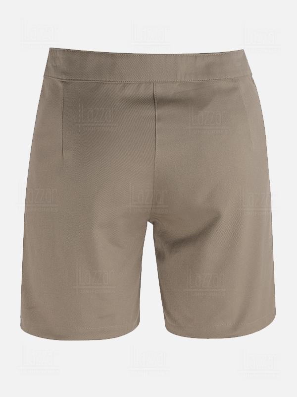 Bermuda cargo shorts rear view