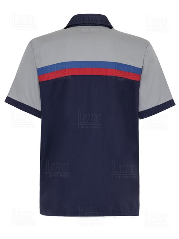 QC shirt rear view