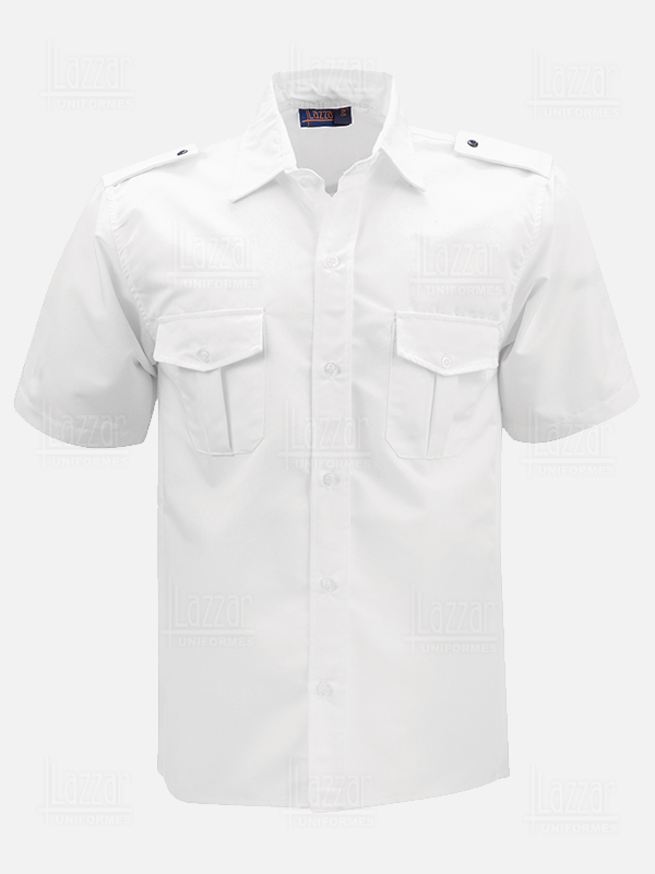 Police shirt white color