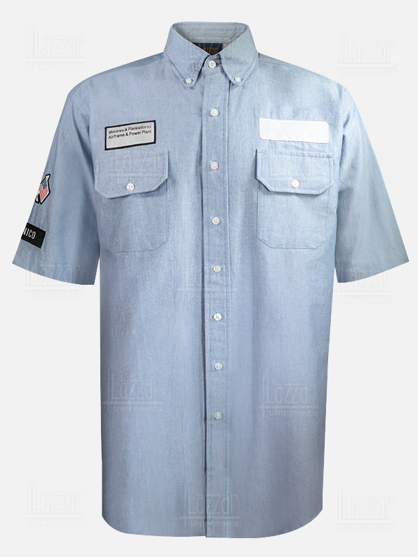 Police shirt for security guard