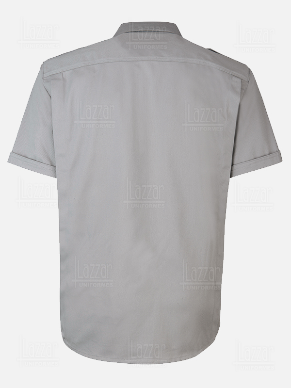 Police grey color shirt