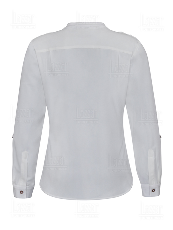 Business blouse rear view