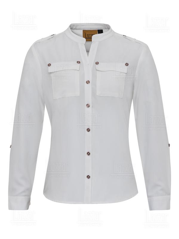 White corporate blouse