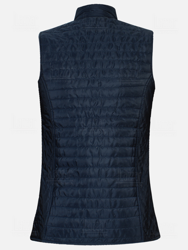 Tokio Navy Blue Capiton Vests