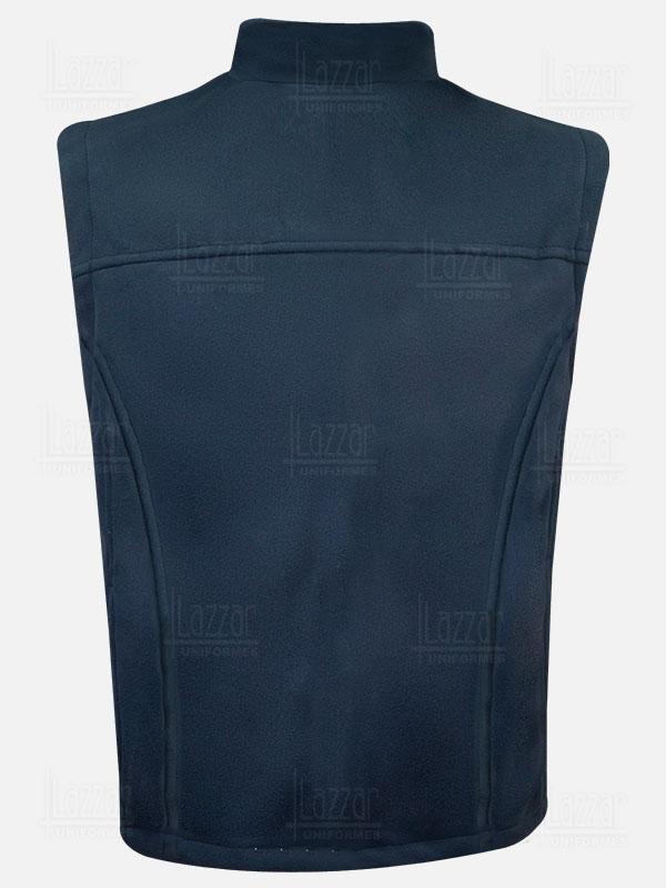 Uruguay vest rear view