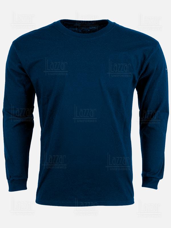 Navy blue crew neck t-shirt